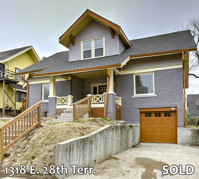 1318 E 28th Terr SOLD