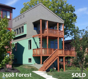 2408 Forest SOLD