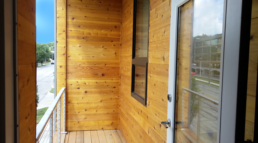 63 Brookside Unit 204 balcony gallery