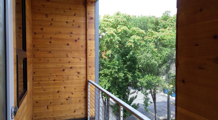 63 Brookside Unit 303 Balcony