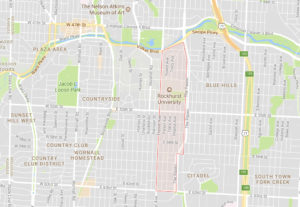 Rockhurst Neighborhood Map