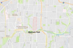manheim park map