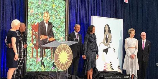 presidential portrait unveiling feature