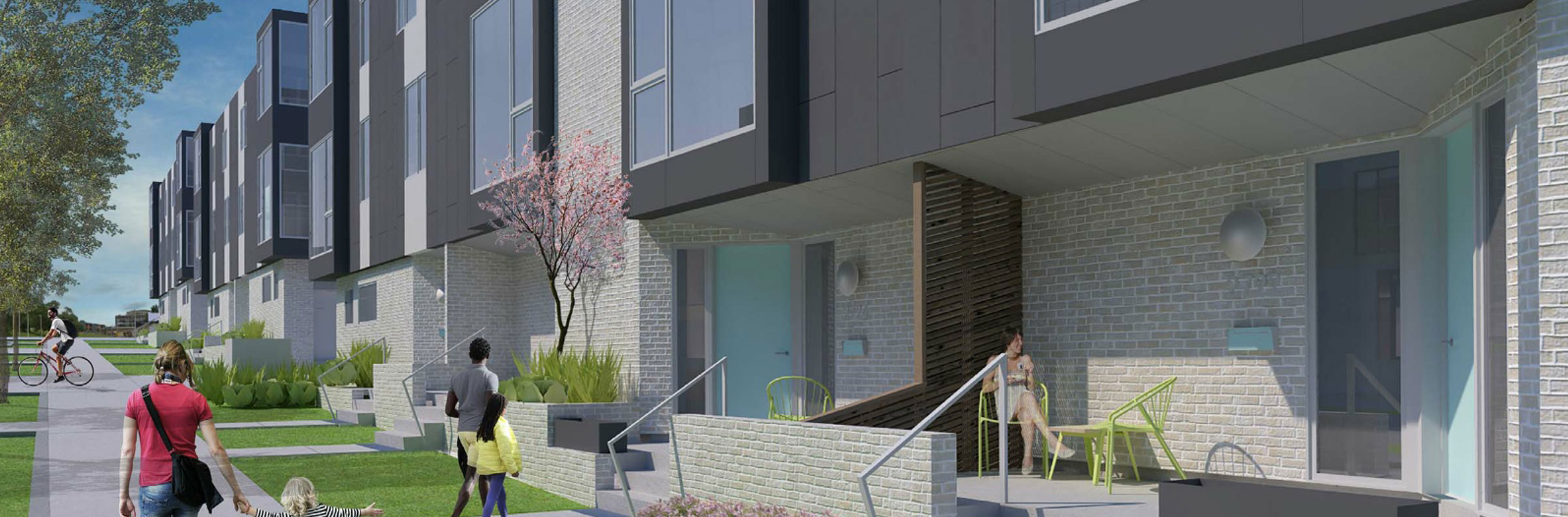 Gallerie Townhomes at 27th and McGee