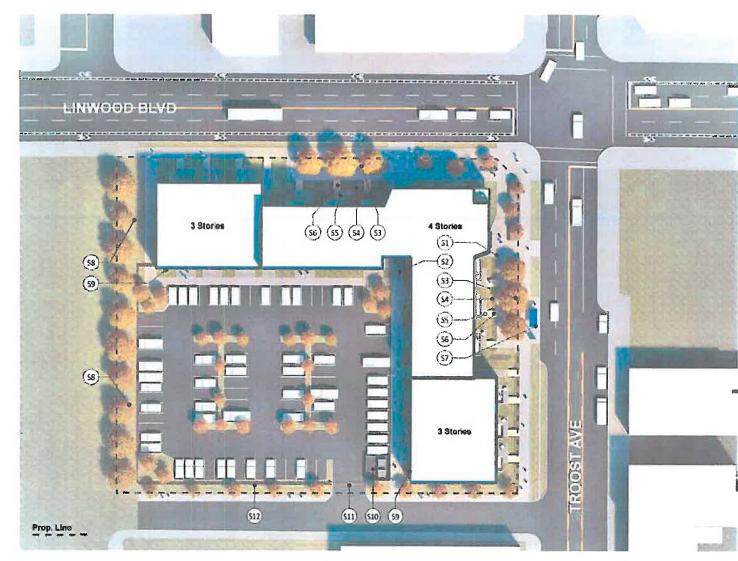 Troost Revival, kansas city apartments, new development kansas city, uc-b properties